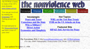 Screenshot from 1996 via Archive.org