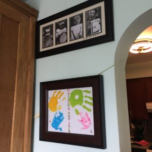 Framed Mothers Day presents two years running!